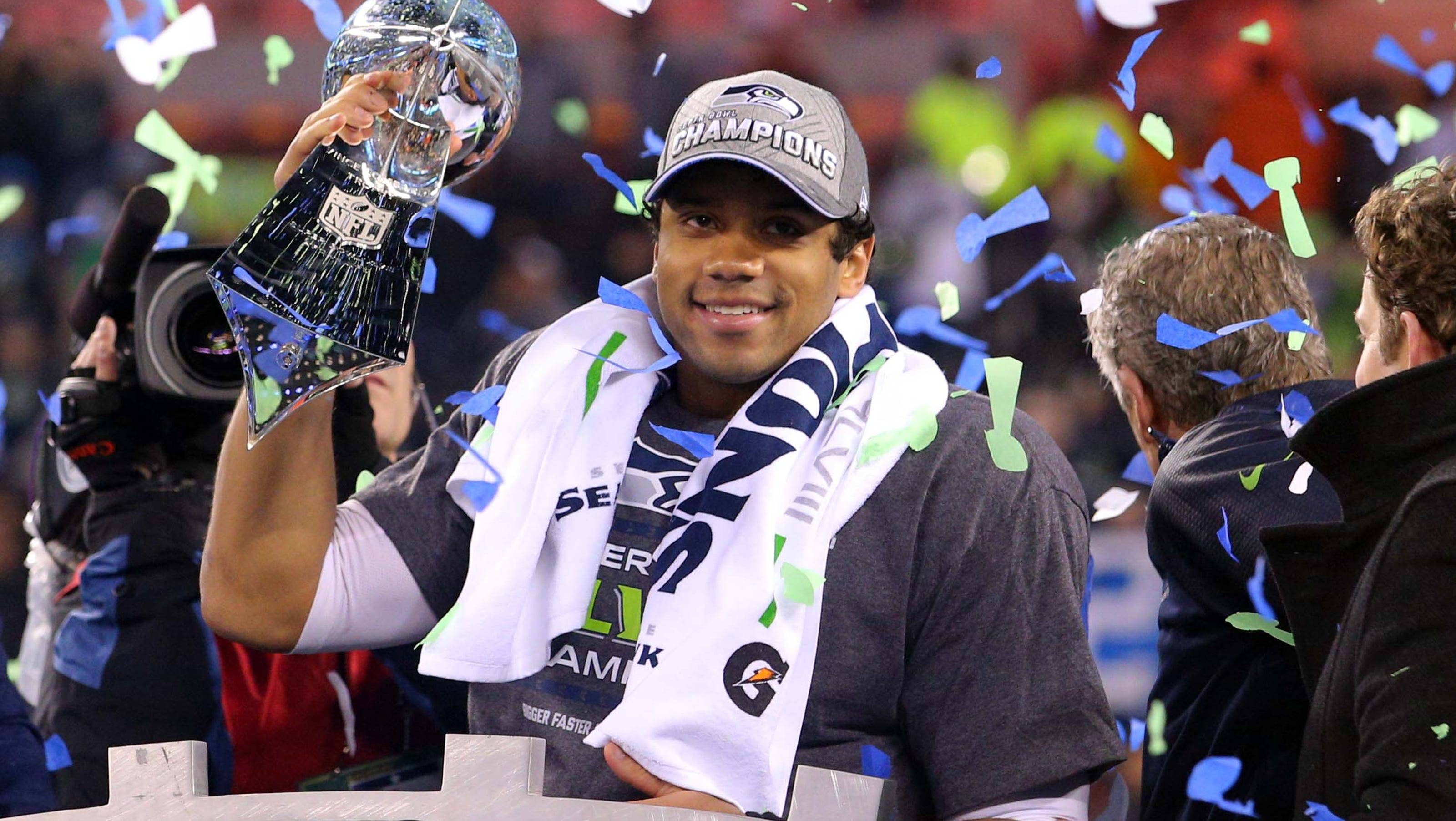 Image result for russell wilson super bowl