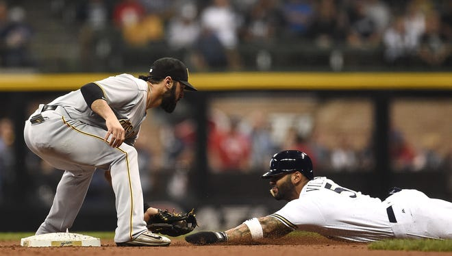 Jonathan Villar stole his 58th base on Thursday, but was also thrown out trying to steal his 59th.