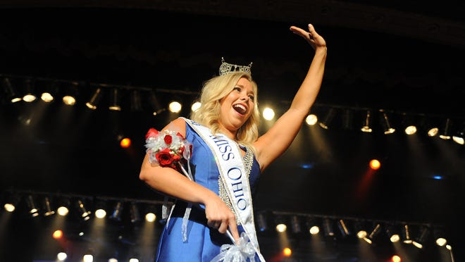 Miss Maple City Sarah Hider, of Wooster, was crowned the 2015 Miss Ohio on Saturday night during the Miss Ohio Scholarship Program at the Renaissance Theatre in Mansfield.
