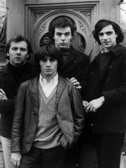 The Rascals, from left, in a 1966 Atlantic Records promotional photo: Gene Cornish, , Eddie Brigati, Dino Danelli and Felix Cavaliere.