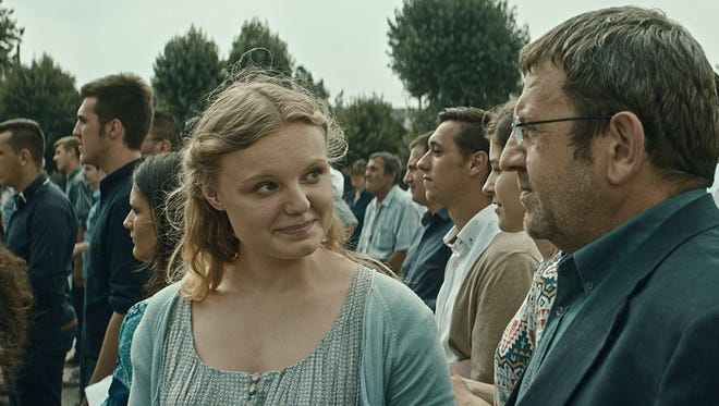 "Cristian Mungiu. writes and directs ""Graduation,"" which stars Adrian Titieni and Maria-Victoria Dragus."
