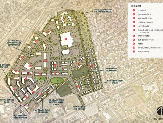 The Apodaca Blueprint presents this conceptual plan