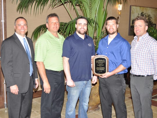Tanner's Grill was named the business recipient of