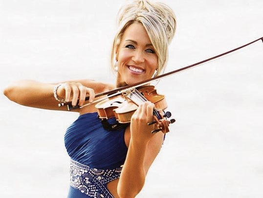 Military veteran and violinist Amanda Wirtz will be the guest speaker for the YWCA luncheon.