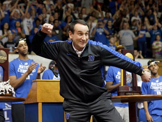 Duke basketball coach Mike Kryzyzewski has had the number of MSU coach Tom Izzo over the past two decades.