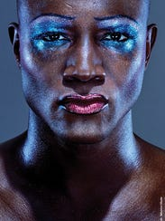 Taye Diggs is all glitter and glam as rocker Hedwig