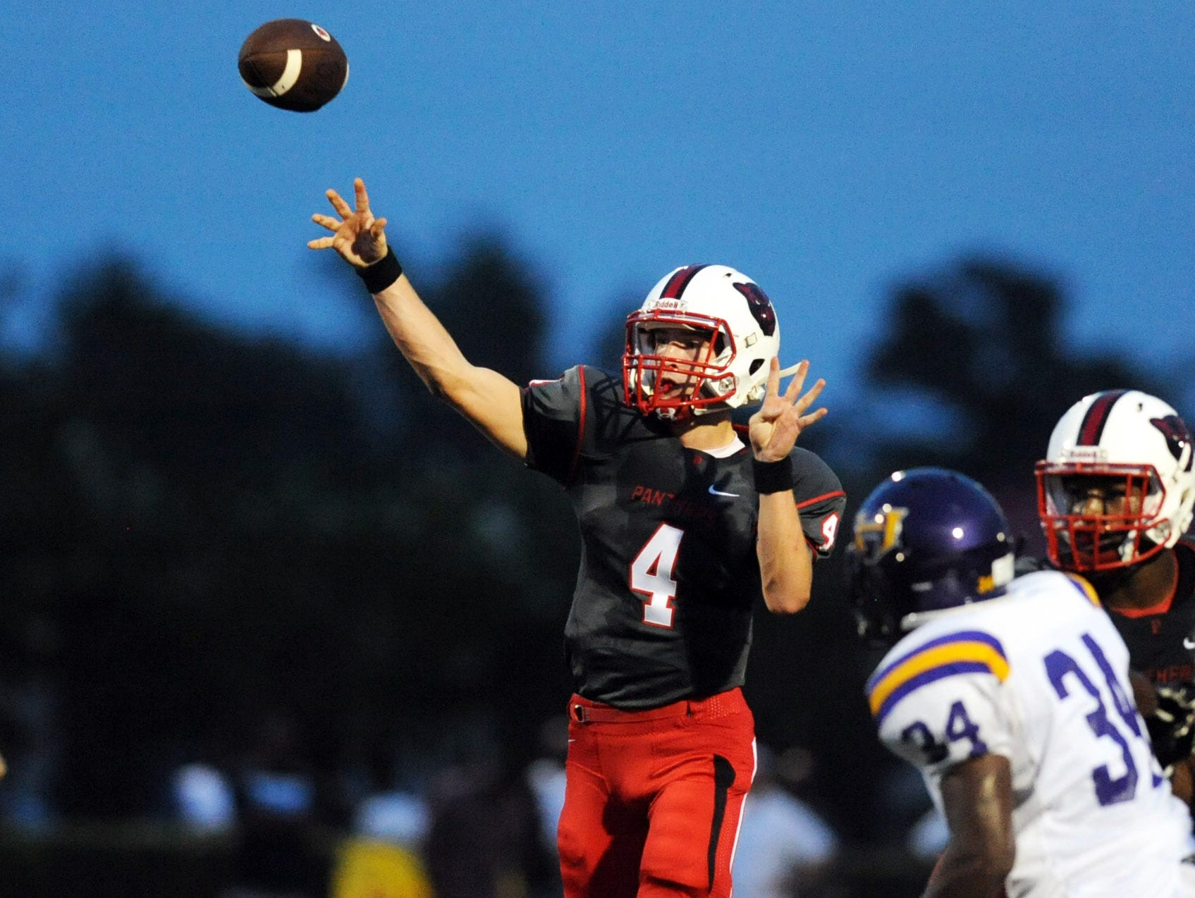 Petal quarterback Samuel Hopper will lead the Panthers against Meridian at 7 p.m. Friday in the Class 6A South State Championship.