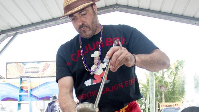 Michael Catalan, of A Cajun Bowl in Cape Coral.