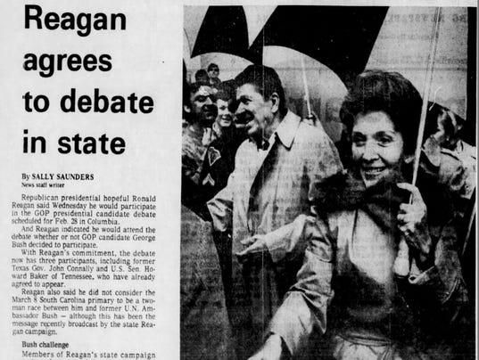 Reagan at Bob Jones University