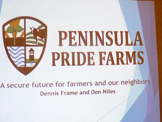 Peninsula Pride Farms Inc. dates to April 1, 2016