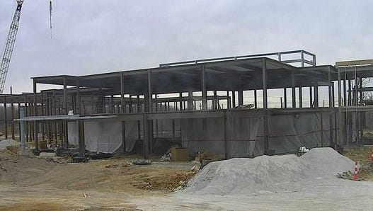 Construction continues on a new behavioral health facility in Erlanger. It's scheduled to open December 2017.