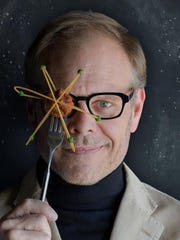 Alton Brown will be at the Des Moines Civic Center on May 6.