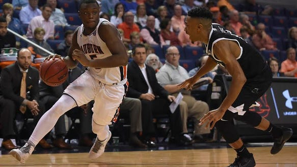 Auburn guard Mustapha Heron had 23 points in a 90-83