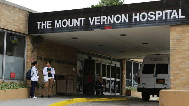 The exterior of Mount Vernon Hospital