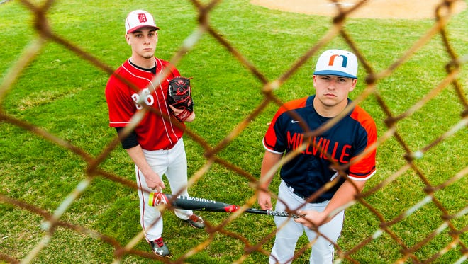 Delsea's Brad Dobzanski and Millville's Buddy Kennedy have cemented themselves as two of the top ballplayers in South Jersey, finding themselves on many national scounting lists.