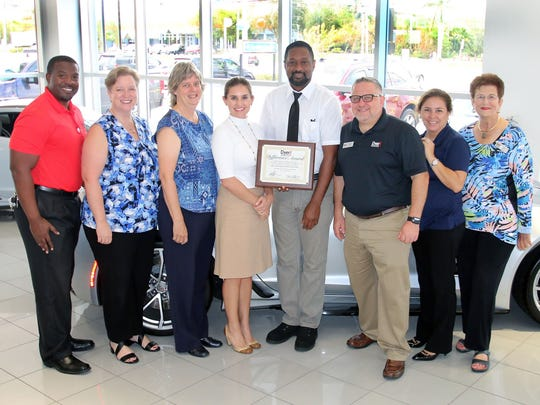 The September Dyer Difference Award for St. Lucie County