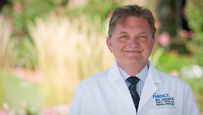 Mercy's Dr. Gary Hoos, 60, was killed in a vehicle crash Monday night.