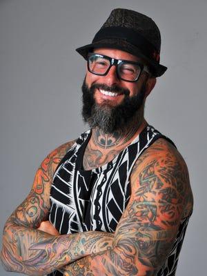 Mark Longenecker of Endless Summer Tattoo in Cocoa Beach.