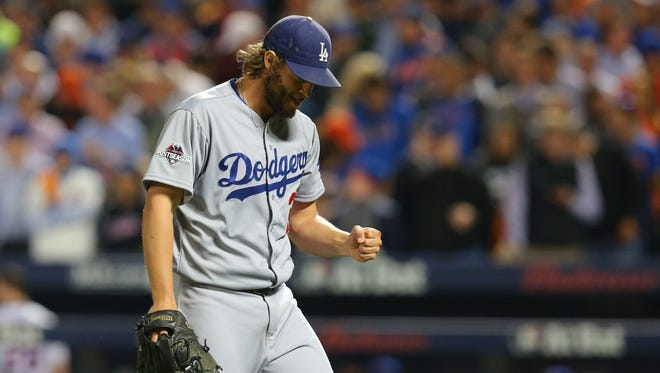 Clayon Kershaw allowed three hits over seven innings and striking out eight in the process.