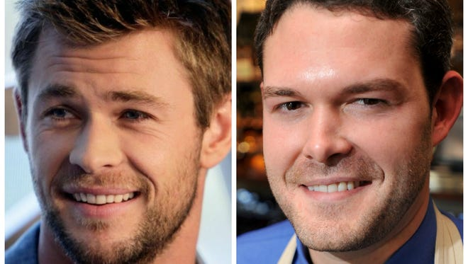 Friends say Charles Morgan looks like Chris Hemsworth.
