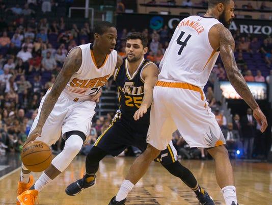 Suns loss vs. JazzNBA Suns