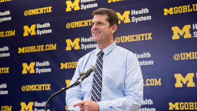 Michigan head football coach Jim Harbaugh spoke to San Jose Mercury News Tim Kawakami on numerous topics during a podcast.