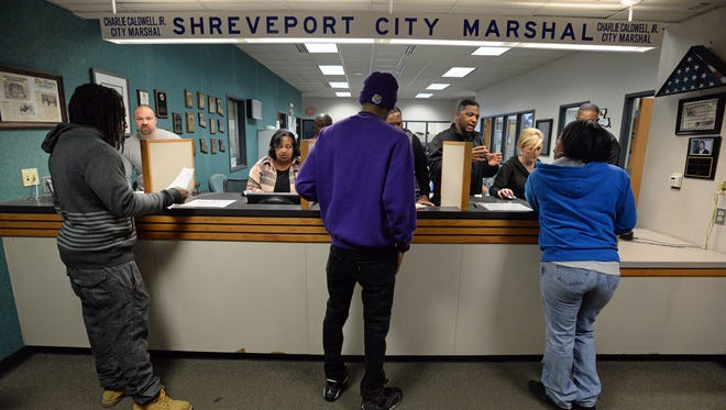 The Shreveport City Marshal's office held their annual amnesty day Saturday, allowing individuals to have fines cleared and certain court dates deferred. The event is expected to see some 200 plus individuals take advantage of the program.