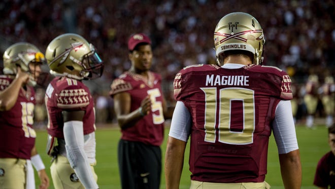 Sean Maguire is expected to be the top contender for the open quarterback position this spring.
