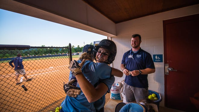 Enka shortstop Jasmine Palmer is the Co-Mountain Athletic Conference Softball Player of the Year.