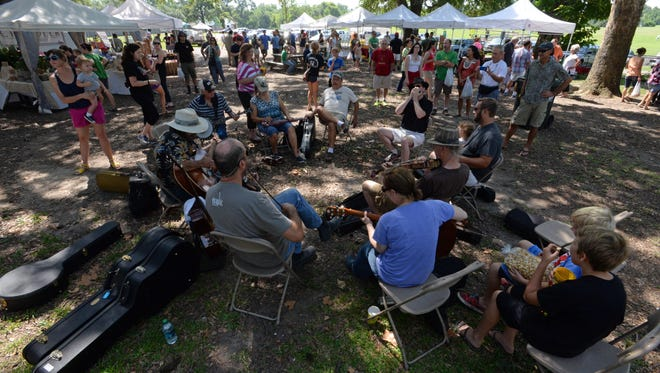 The Lafayette Farmers and Artisans Market at the Horse Farm happens from 8 a.m. to noon every Saturday. It's one way to celebrate National Farmers Market Week Aug. 2-8.