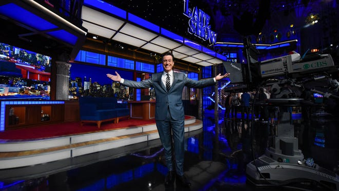 Stephen Colbert is ready to take on the 'Late Show.'