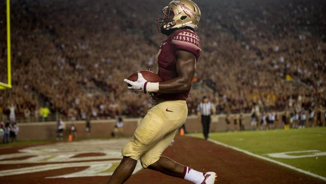 Dalvin Cook torched the Texas State defense to the tune of 158 yards and two touchdowns.