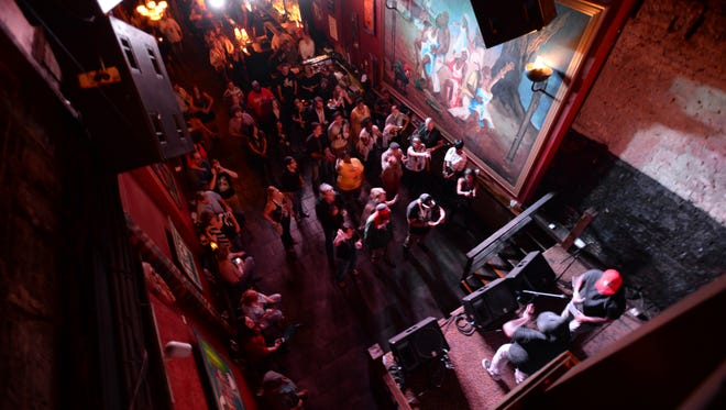Louisiana Music Prize showcase featuring the top 6 finalists and announcement of the winner Thursday evening at Voodoo CafŽ.