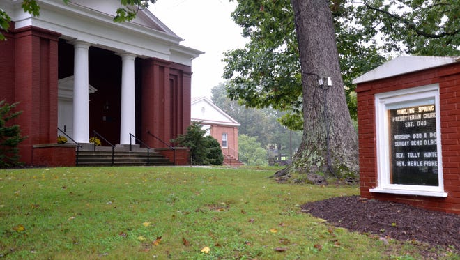 Tinkling Spring Presbyterian Church celebrated 275 years on Sunday, Oct. 4, 2015.