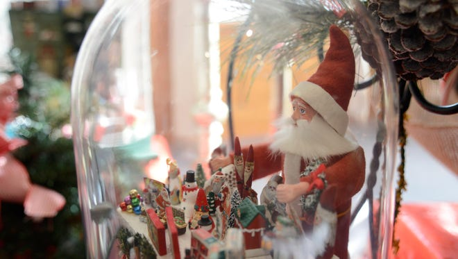 A miniature Santa's village decoration is part of the Rahr-West Art Museum's Christmas in the Mansion exhibition. The exhibition will open from Nov. 25 to Jan. 3.