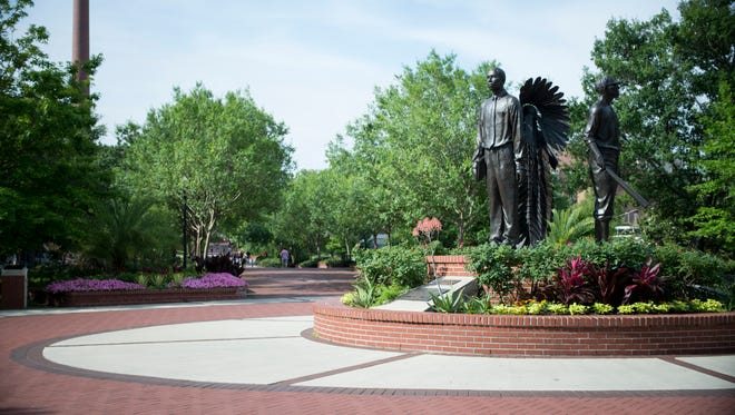 The Integration Statue celebrates FSU opening its doors to black students more than 50 years ago. But the University still has a ways to go in making the campus inclusive to all races, Alex Gaskin writes.