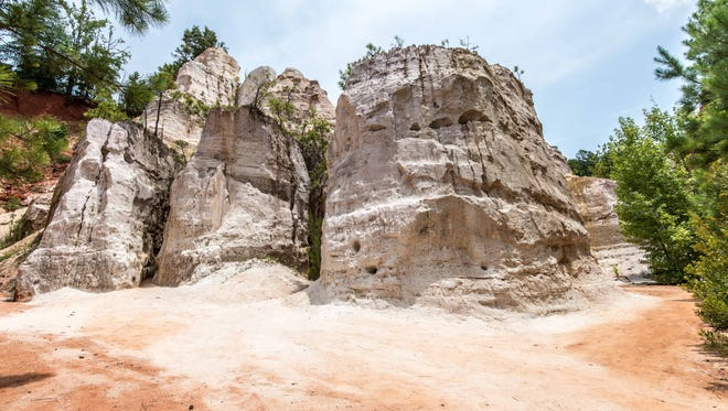 Located in southwest Georgia, Providence Canyon is great for outdoor enthusiasts.