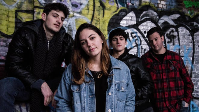 """Recently featured on MTV and Little Steven's """"Underground Garage"""" on Sirius XM Radio, Springfield-based The Vaughns will perform in New Brunswick, Garwood and Asbury Park in coming weeks. Pictured from left to right are bassist Tom Losito, vocalist-guitarist Anna Lies, guitarist David Cacciatore, and drummer Ryan Kenter."""