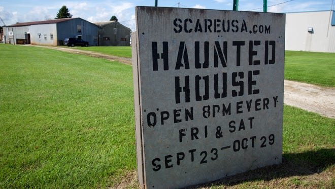 The Scare USA building might not seem so bad during the daytime, but it promises to scare as soon as you walk inside.