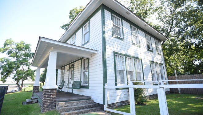 The President William Jefferson Clinton Birthplace Home in Hope, Arkansas.