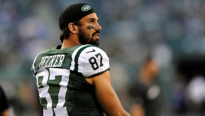Jets receiver Eric Decker had his second surgery in less than a month on Tuesday.
