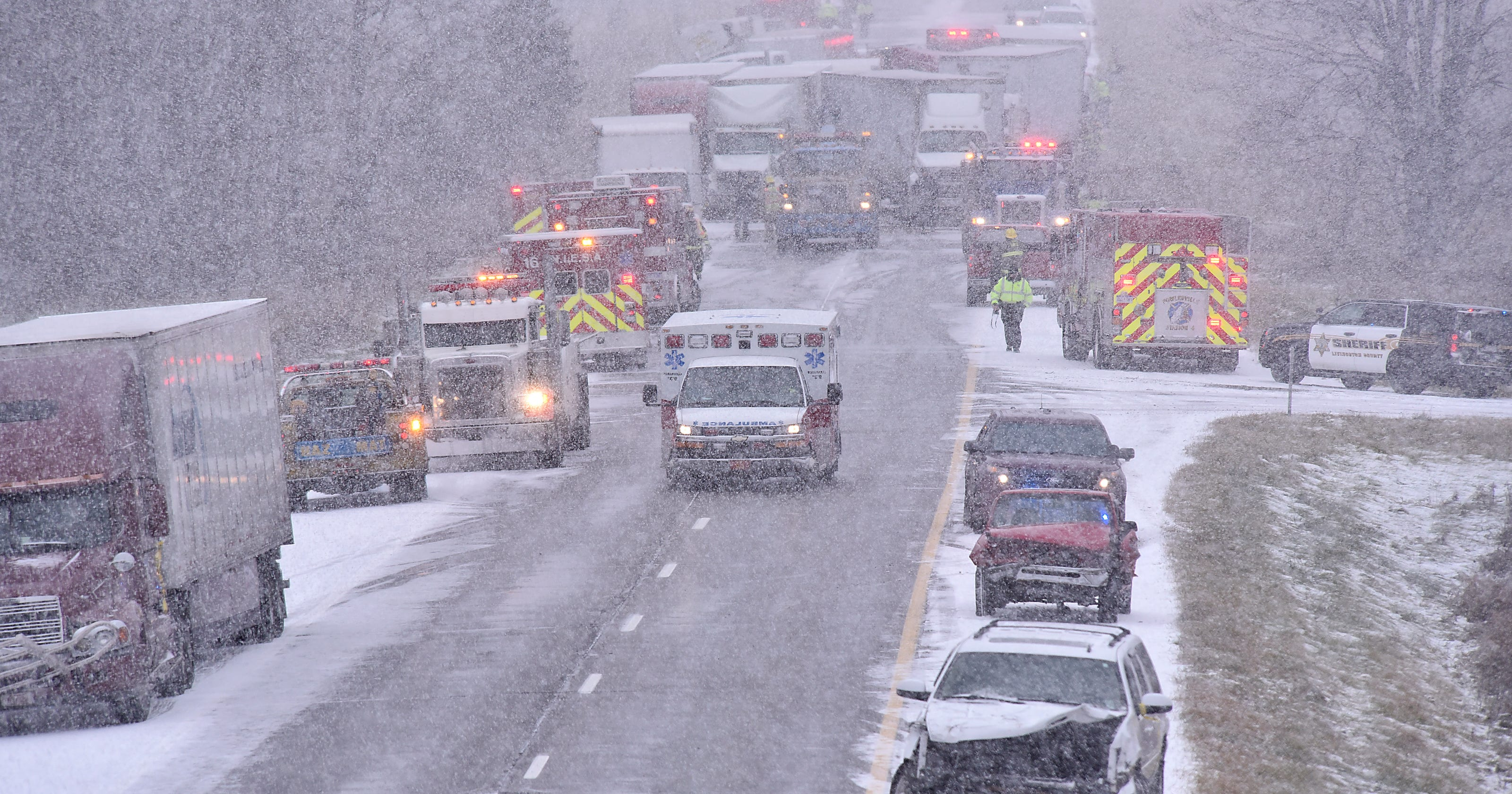 Howell driver allegedly to blame for 53-car pileup