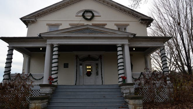 The main house at Montgomery Hall Park.