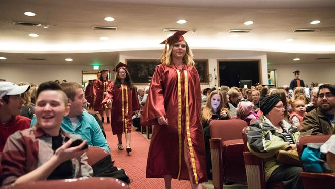 Graduation rates in the Greater Lafayette area hold steady while the state's overall graduation rate drops by 2 points.