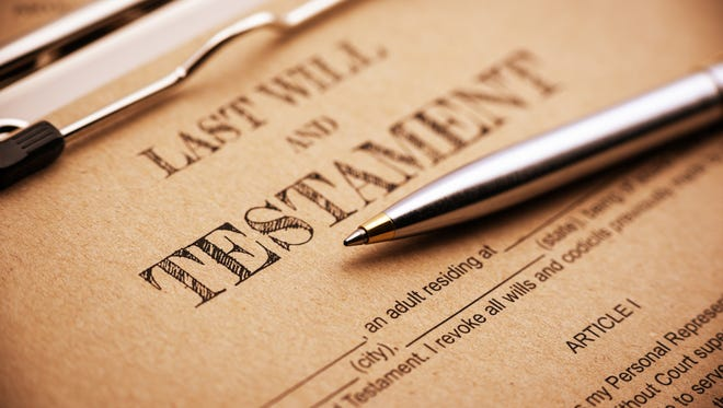 A recent survey of 1,003 adult Americans found nearly six in 10 do not have a will.