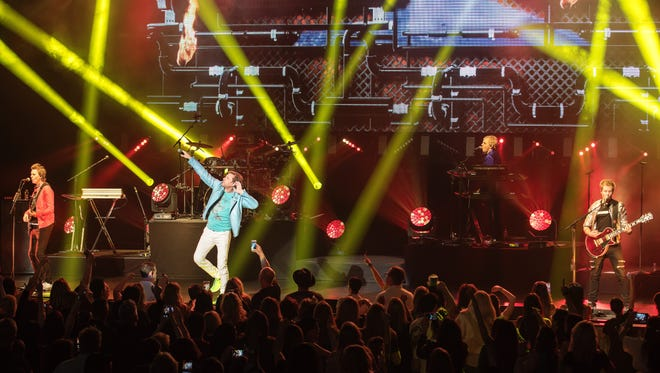 Duran Duran at The Show at Agua Caliente Casino Resort Spa in Rancho Mirage. (March 2017)