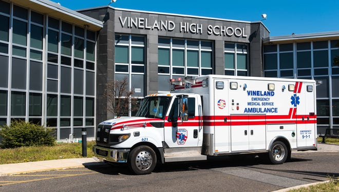 Emergency services were called to Vineland High School due to an odor that affected students on Wednesday, March 22.
