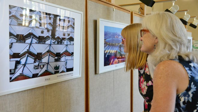"""Photos from the exhibit """"Innovate Shanghai"""" are on display at Pasadena City Library. The exhibit can also be seen at Ontario International Airport from June 7 - June 11."""
