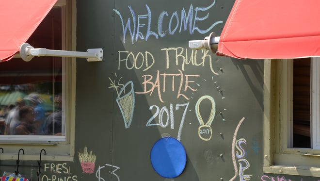 The third annual Virginia Food Truck Battle at the Frontier Culture Museum on Sunday, Sept. 3, 2017.