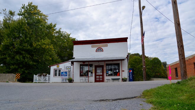 Middlebrook General Store in Middlebrook, Virginia.